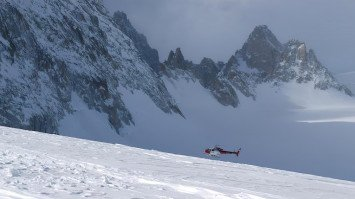 Heliski from Chamonix